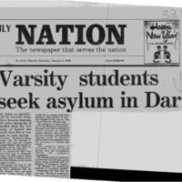 Varsity students seek asylum in Dar