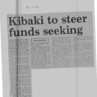 Kibaki to steer funds seeking