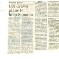 UN draws plans to help Somalia