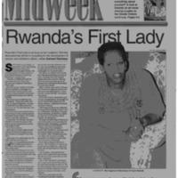 Rwanda's first lady