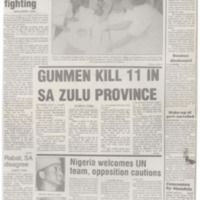 Nine killed in Somalia fighting