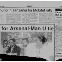 Wavamuno in Tanzania for Mobitel rally