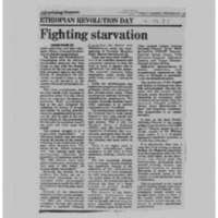 Fighting starvation